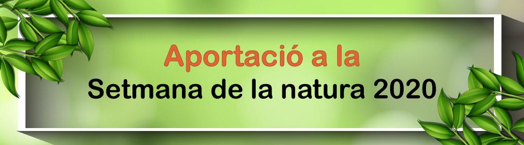 Aportació setmana natura